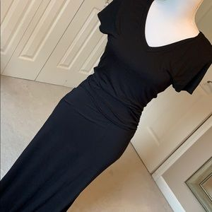 Venus black maxi dresse